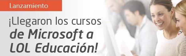 Microsoft nombra a LOL CPLS de Educación