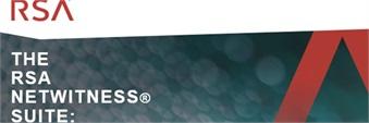 RSA Netwitness Suite, seguridad integral para toda organización