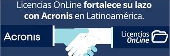 Licencias OnLine fortalece su lazo con Acronis en Latinoamérica