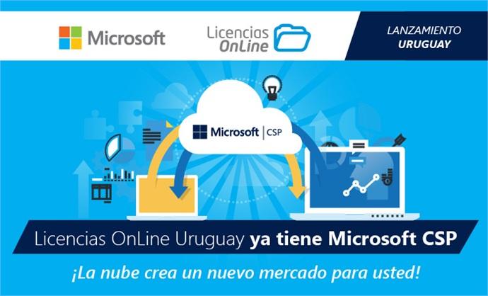 Licencias OnLine lanzó Microsoft CSP en Uruguay