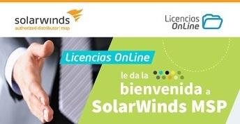 Licencias OnLine distribuirá los productos de SolarWinds MSP en América Latina