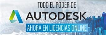 Autodesk suma valor al portfolio de Licencias OnLine